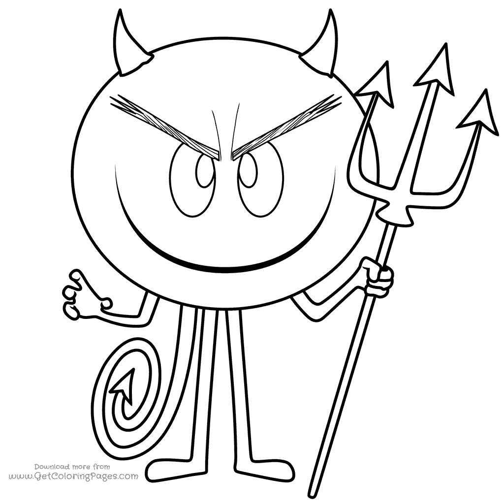 Devil Coloring Pages At Getcolorings