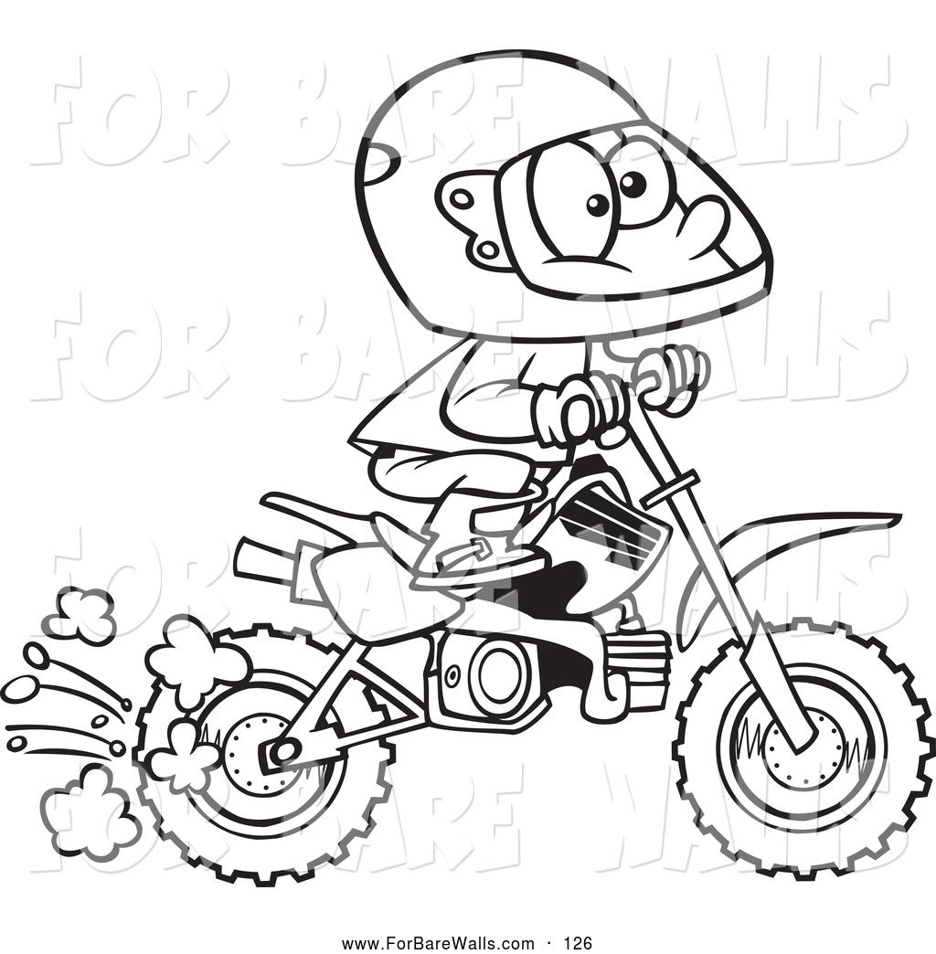 Dirt Bike Coloring Pages At Getcolorings