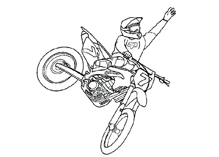 Dirt Bike Colouring Pages To Print at GetColorings.com