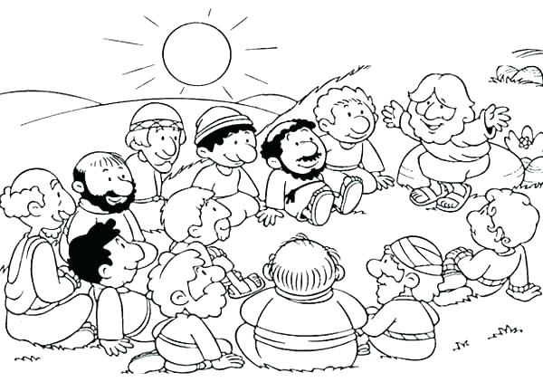 Disciples Coloring Pages Printable at GetColorings.com