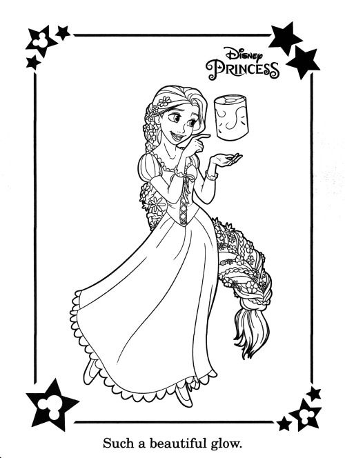 Disney Color And Play Coloring Pages At Getcolorings Com Free