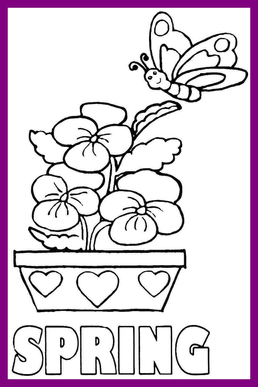 Disney Spring Coloring Pages At Getcolorings