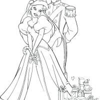 Disney Wedding Coloring Pages at GetColorings.com   Free ...