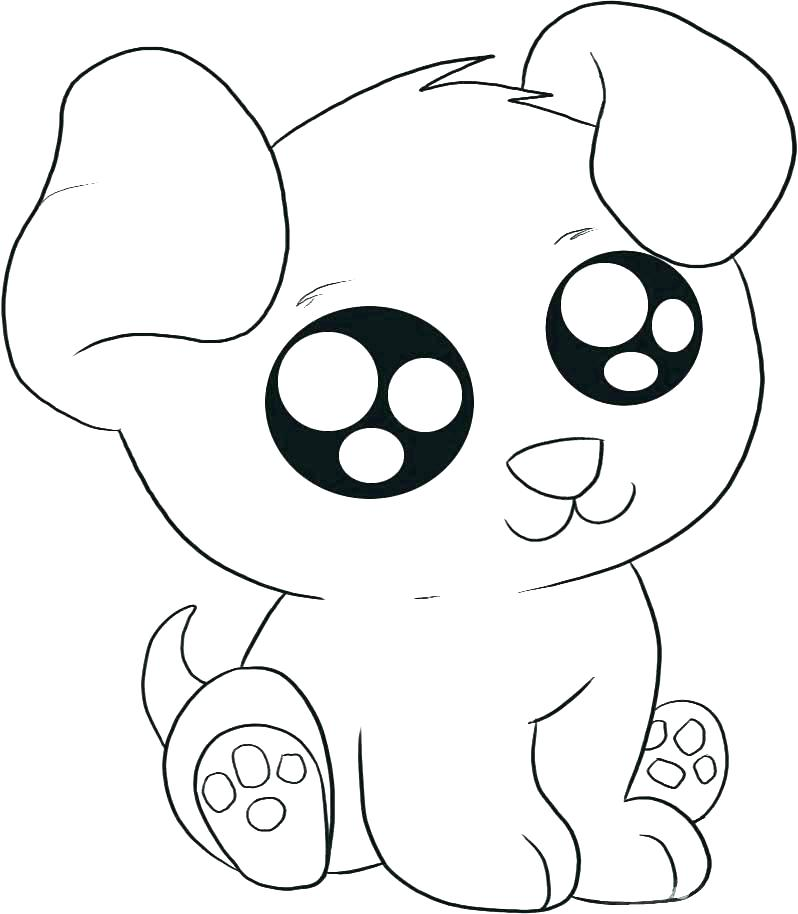 Dog Head Coloring Pages at GetColorings Free