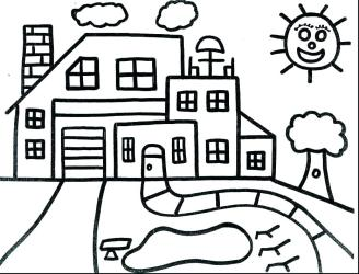 coloring pages dollhouse printable print getcolorings