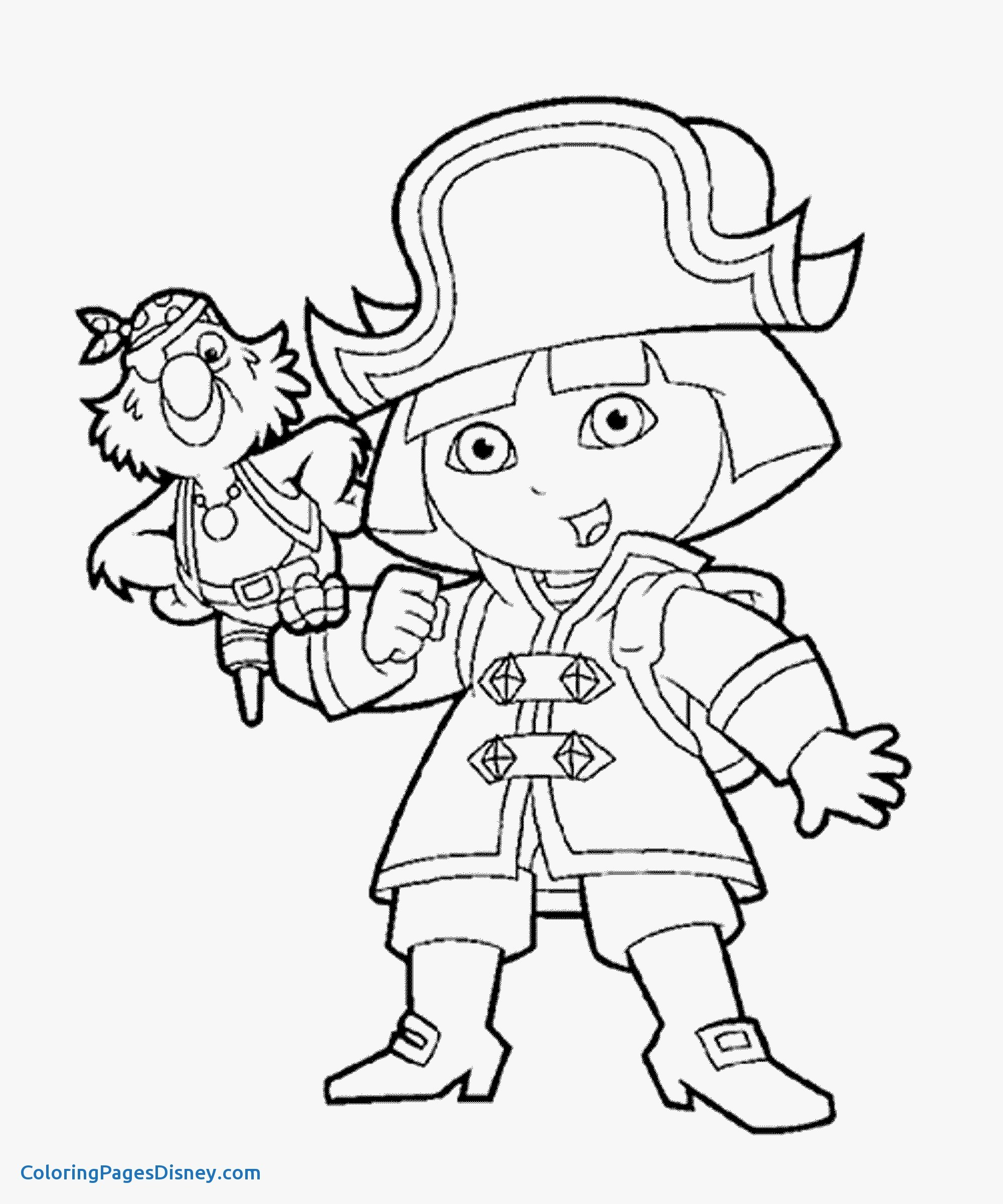 Dora Printable Coloring Pages At Getcolorings