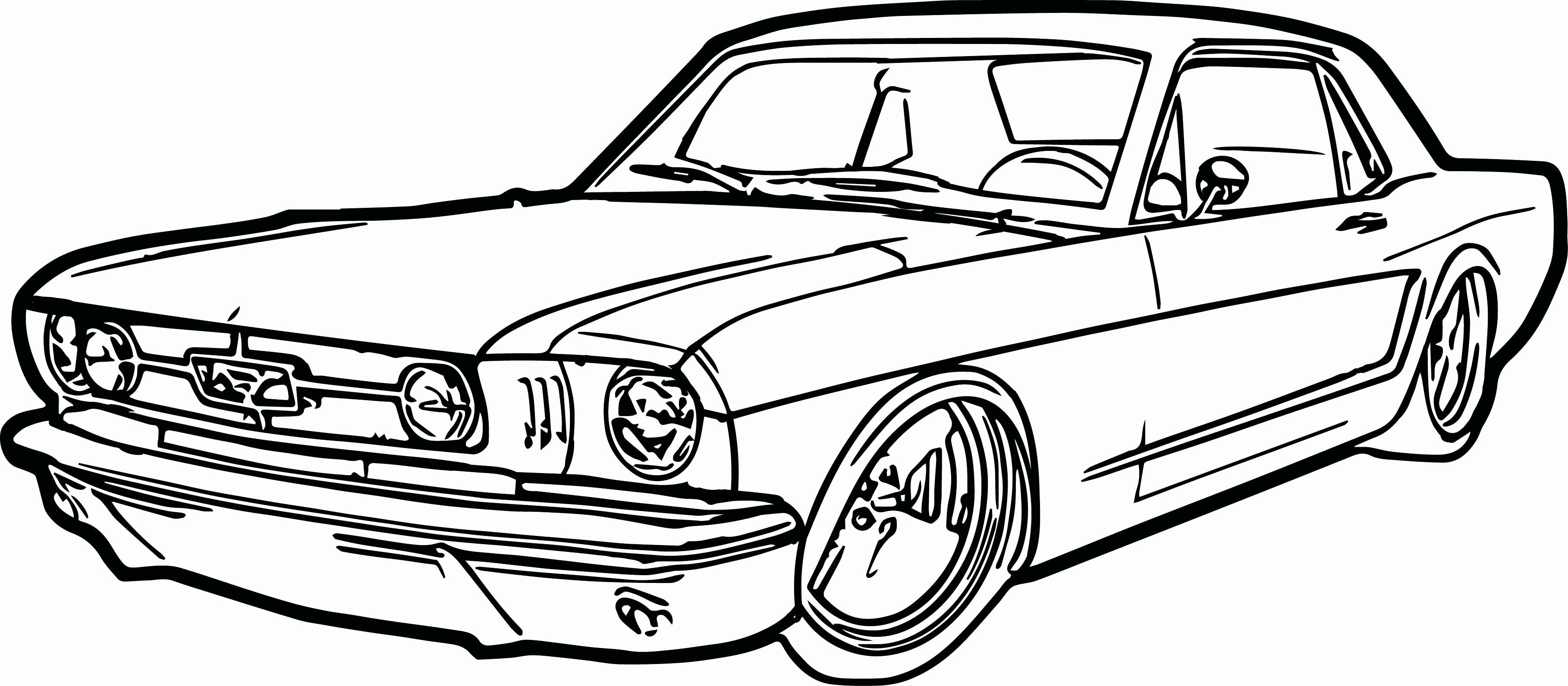 Drag Car Coloring Pages At Getcolorings