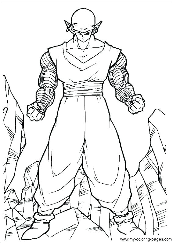 Dragon Ball Z Coloring Pages Vegeta at GetColorings