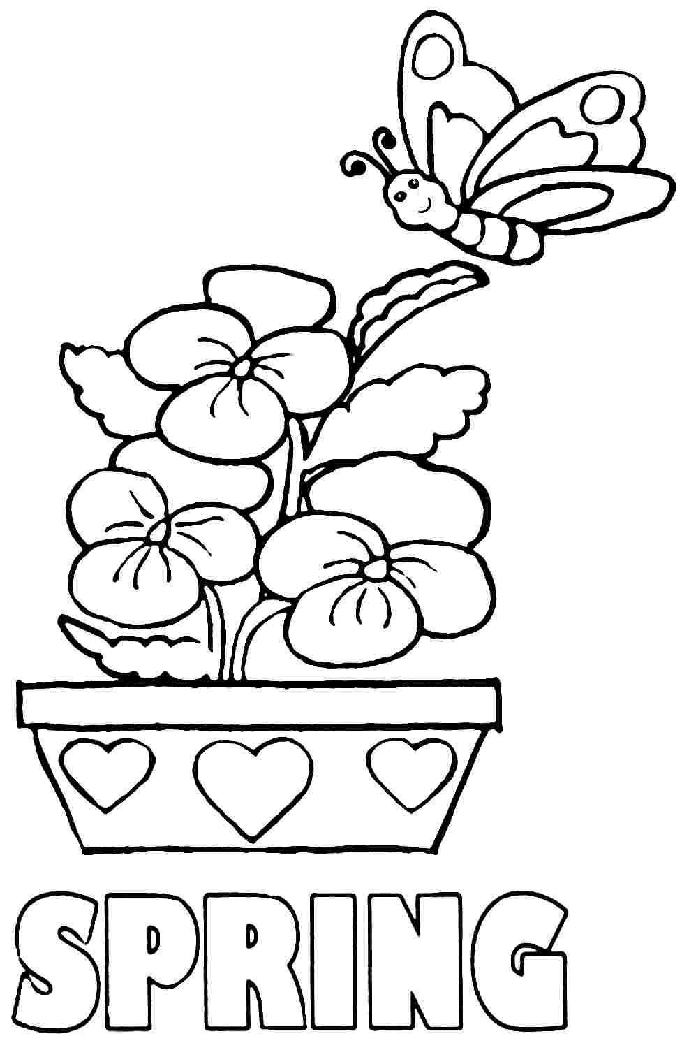 Easy Coloring Pages For Kids at GetColorings.com | Free ... | free printable coloring pages easy
