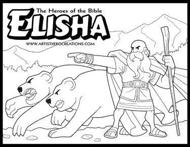 Elijah And Elisha Coloring Pages at GetColorings.com