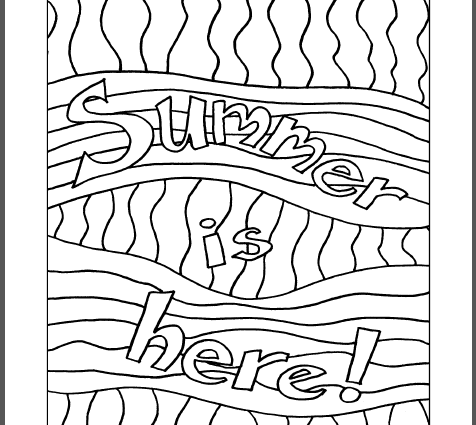 End Of School Year Coloring Pages at GetColorings.com
