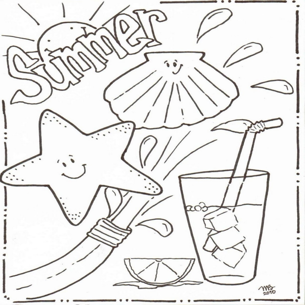 End Of The Year Coloring Pages For Kindergarten at