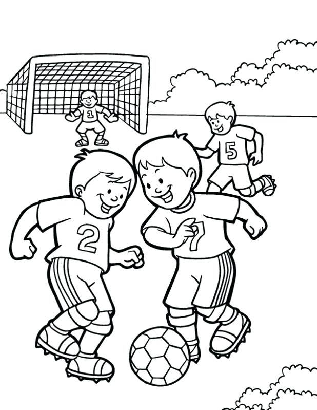Exercise Coloring Pages For Preschoolers at GetColorings