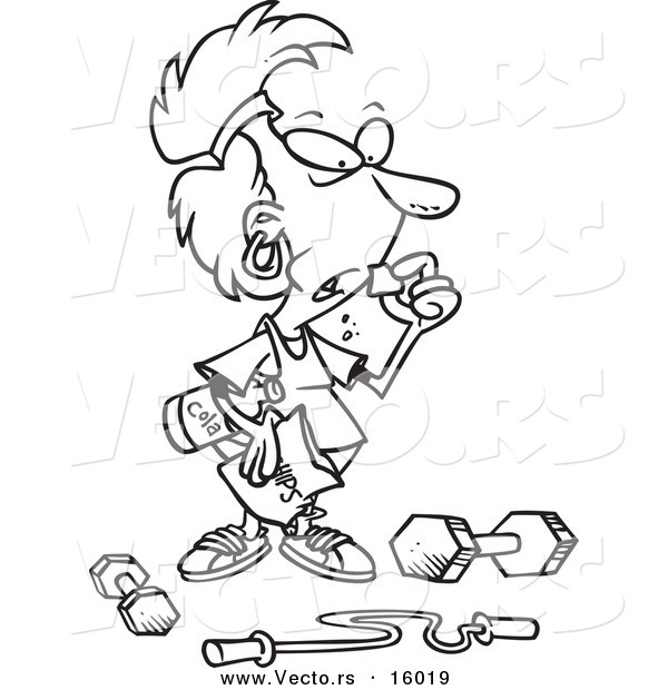 Exercise Coloring Pages Printable at GetColorings.com