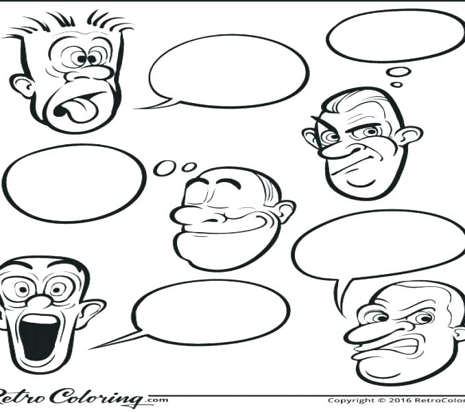 Facial Expression Coloring Pages at GetColorings.com