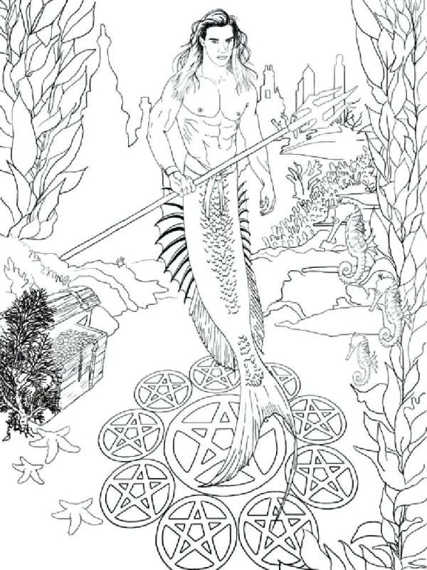 fantasy coloring pages for adults # 64