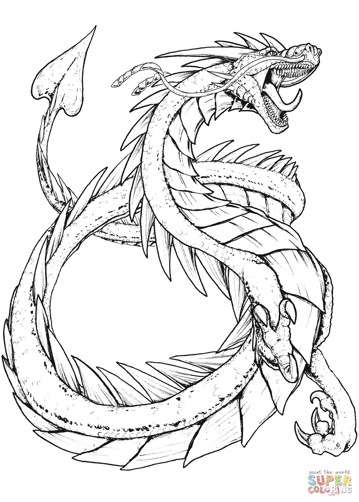 Fantasy Creatures Coloring Pages At Getcolorings