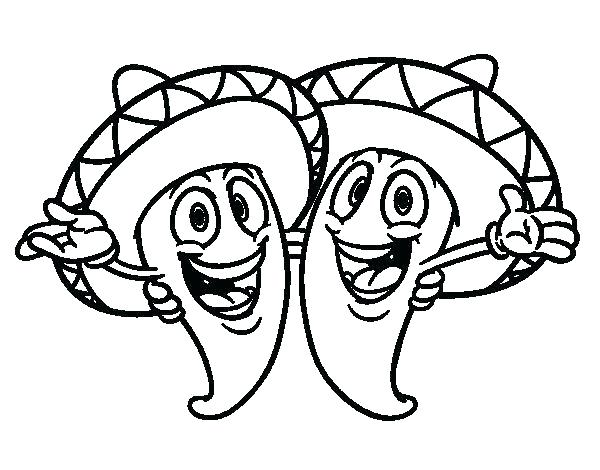 Fiesta Coloring Pages Free Printable at GetColorings.com
