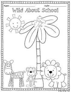 First Day Of School Coloring Pages For Kindergarten at