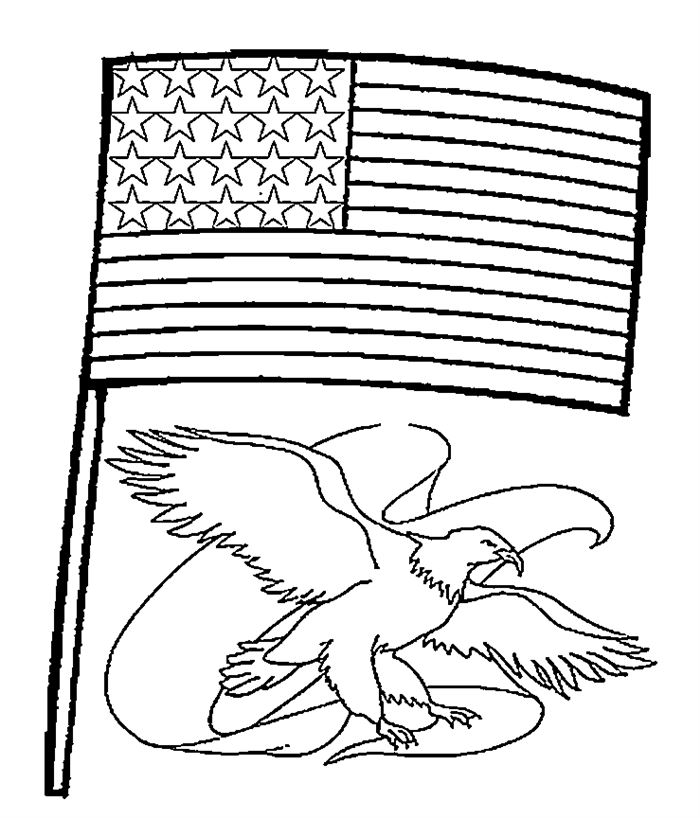 flag day coloring pages at getcolorings  free