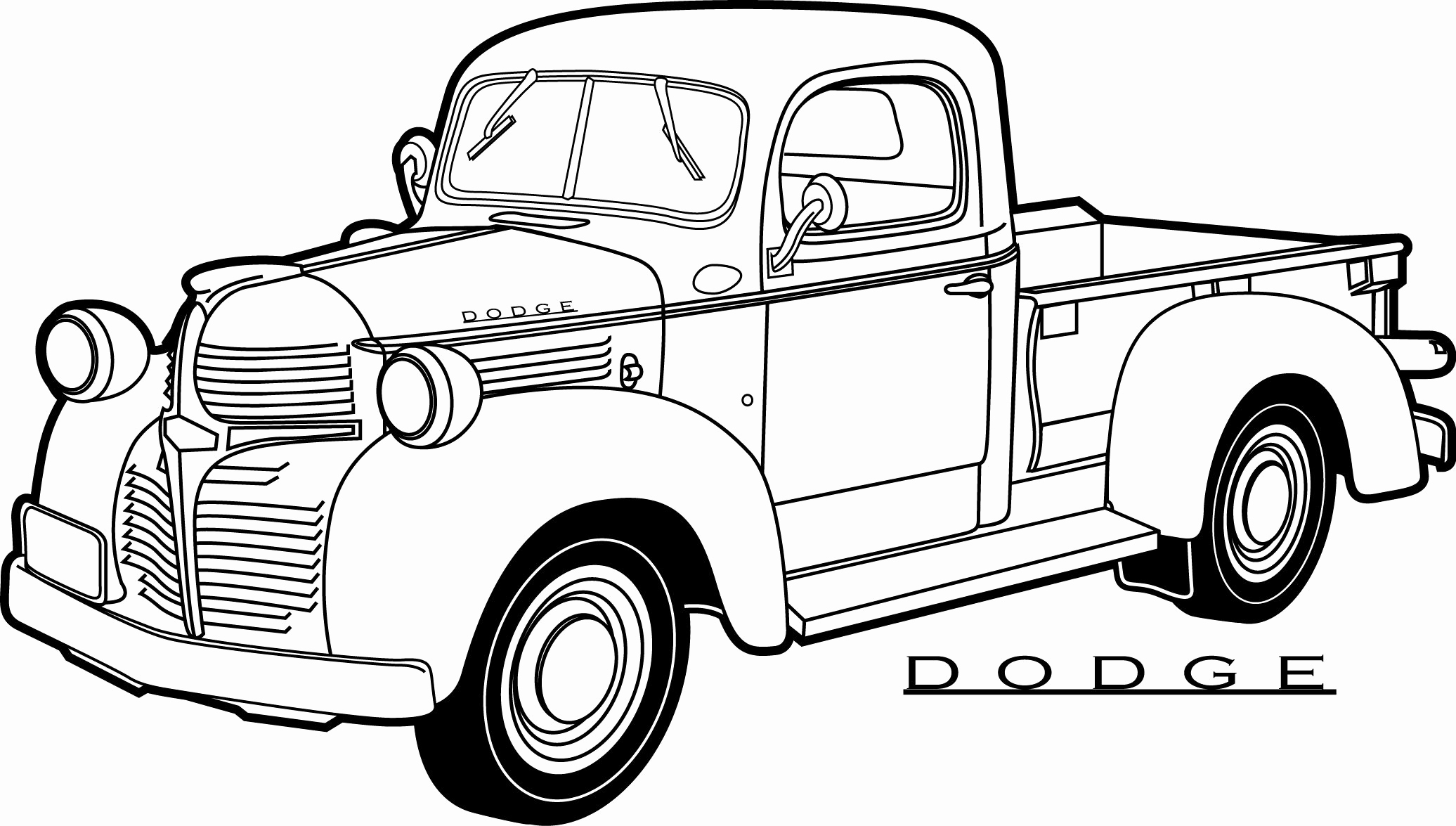 Ford F250 Coloring Pages At Getcolorings