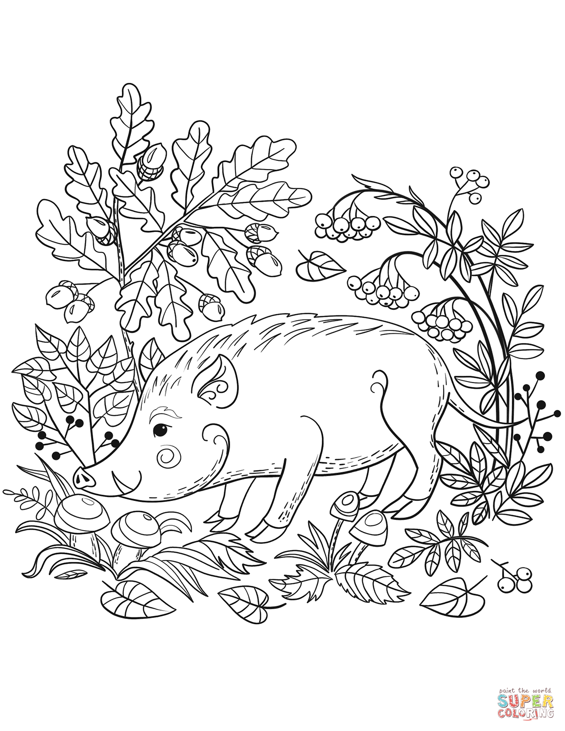 Forest Adult Coloring Pages At Getcolorings