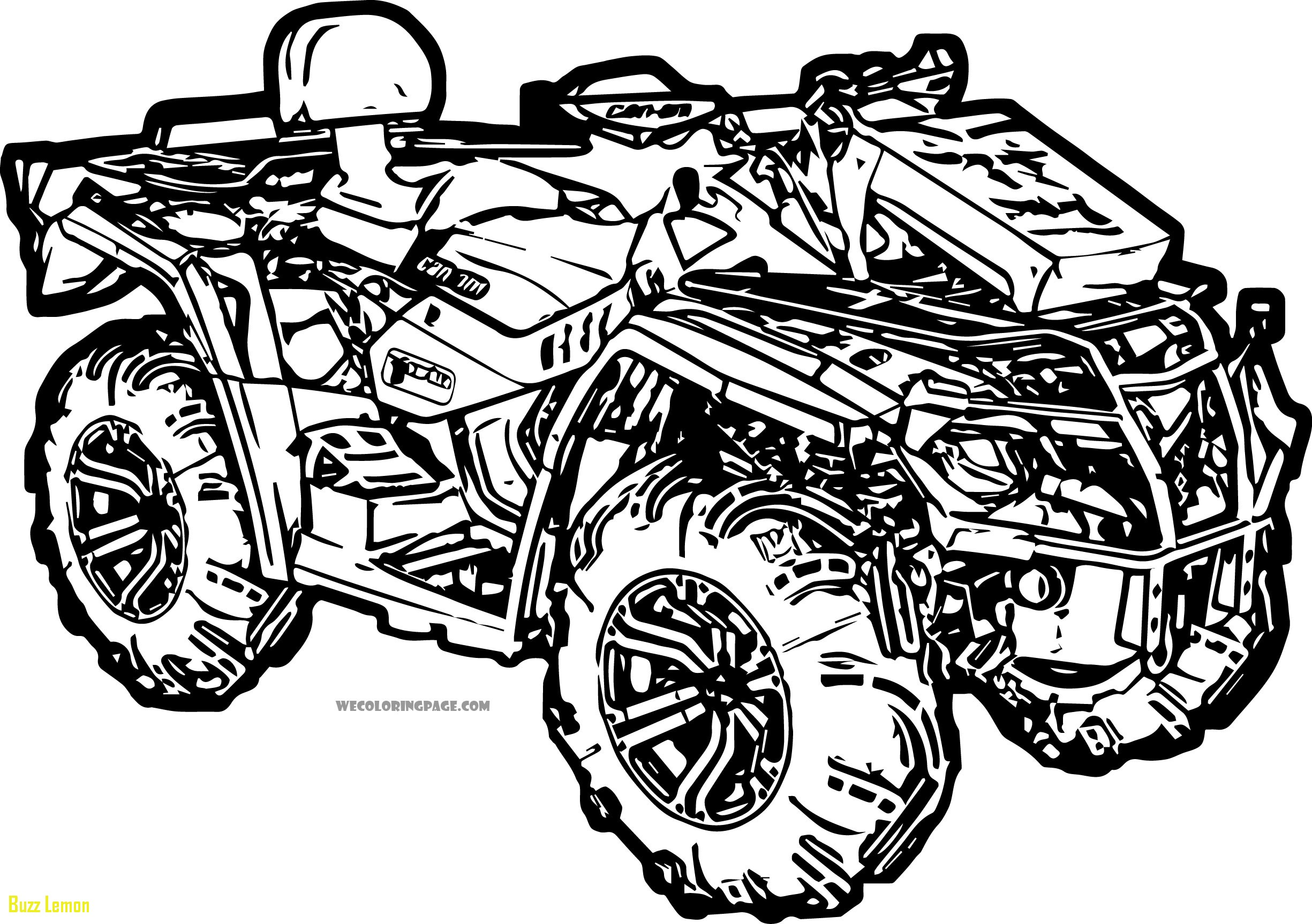 Four Wheeler Coloring Pages At Getcolorings
