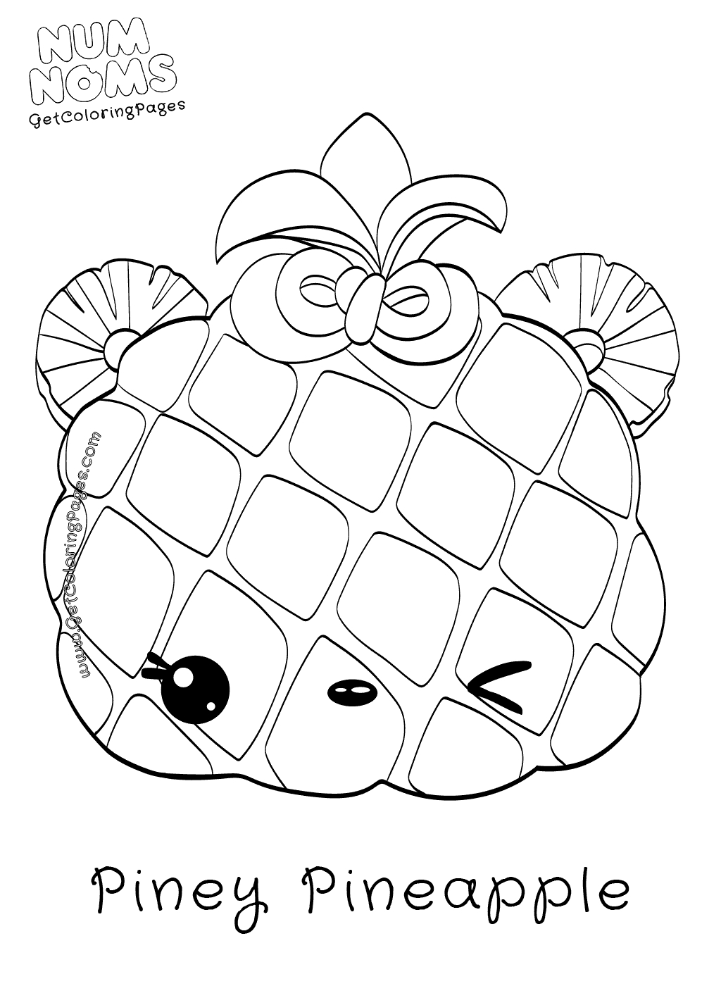 Corn Stalk Coloring Page At Getcolorings