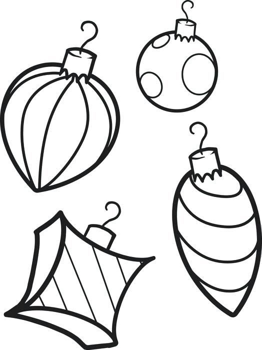 Free Christmas Ornament Coloring Pages at GetColorings.com | Free printable colorings pages to print and color