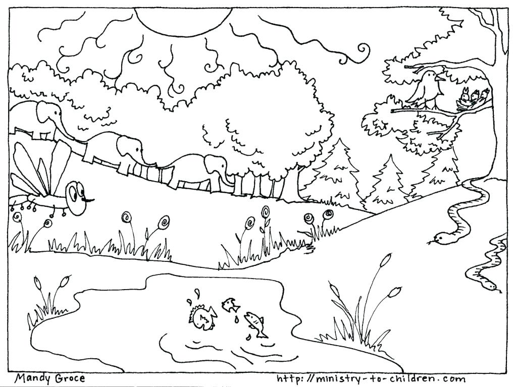 Free Coloring Pages For Preschoolers at GetColorings.com