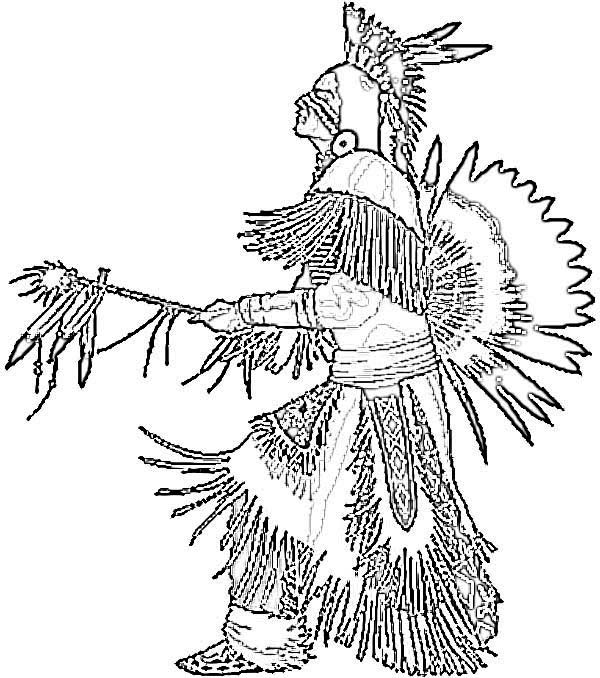 Native American Coloring Pages For Adults at GetColorings