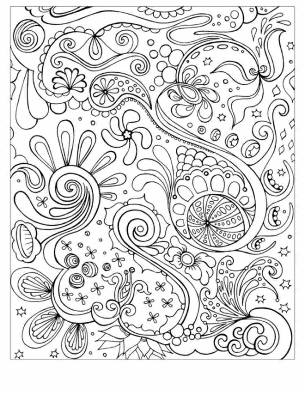 Free Pdf Coloring Pages For Adults at GetColorings.com ... | free online coloring pages for adults easy