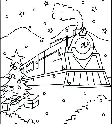 Free Polar Express Coloring Pages at GetColorings.com