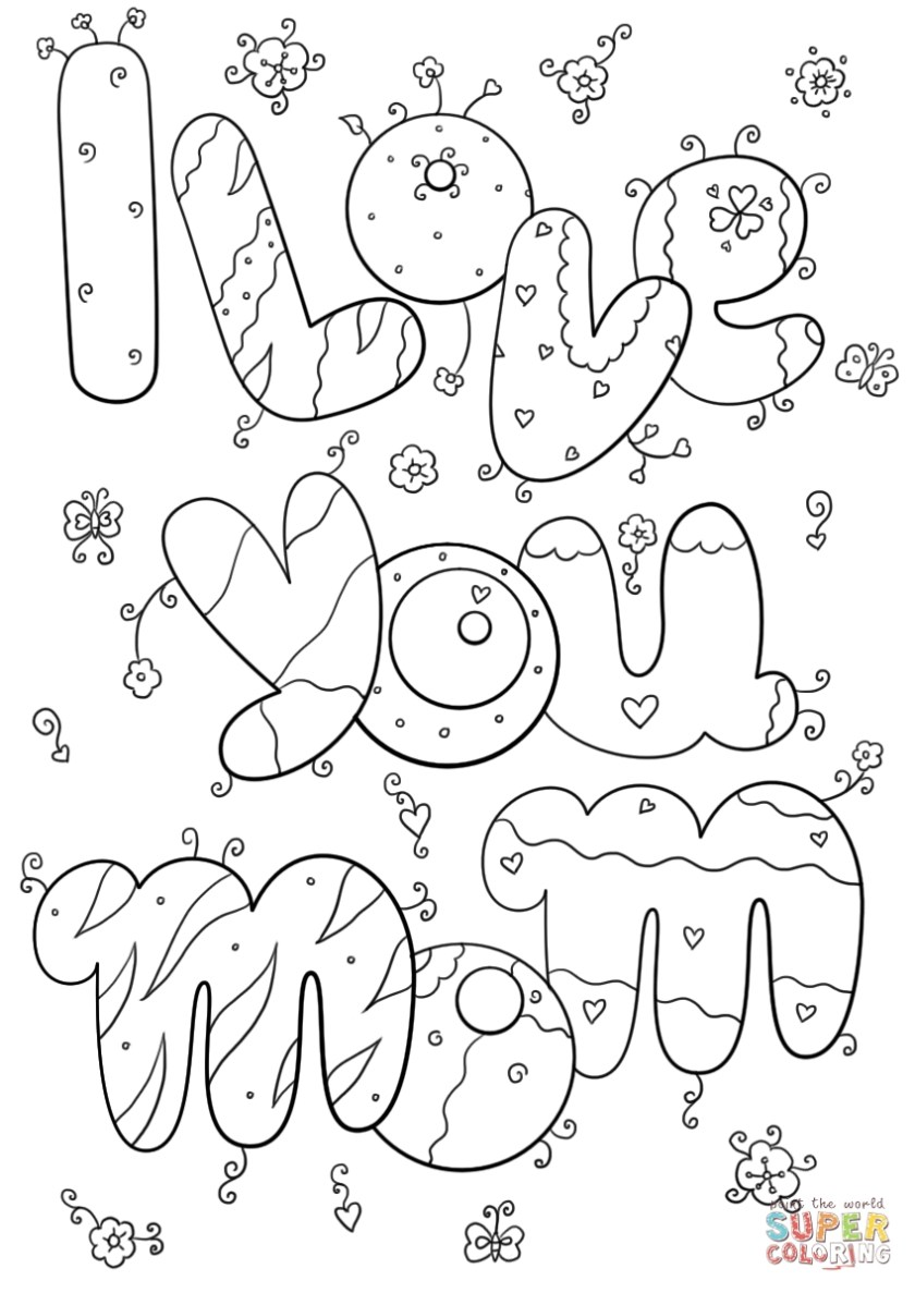 free printable i love you coloring pages at getcolorings