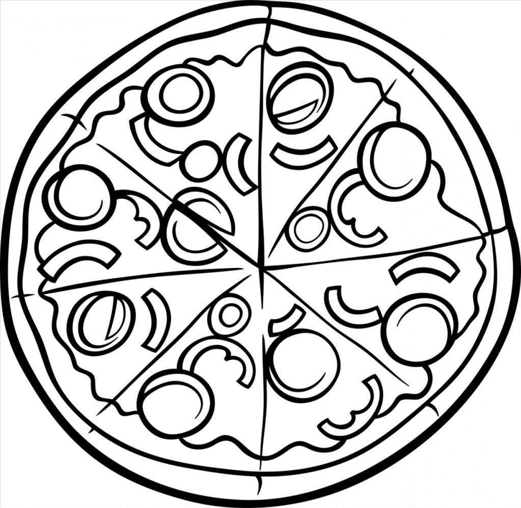 Free Printable Pizza Coloring Pages at GetColorings.com
