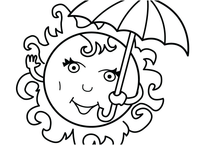Free Printable Summer Coloring Pages For Kids at