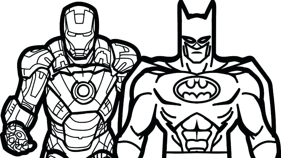 Free Printable Superhero Coloring Pages at GetColorings