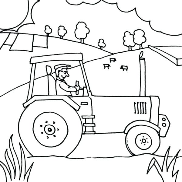 Free Printable Tractor Coloring Pages at GetColorings.com