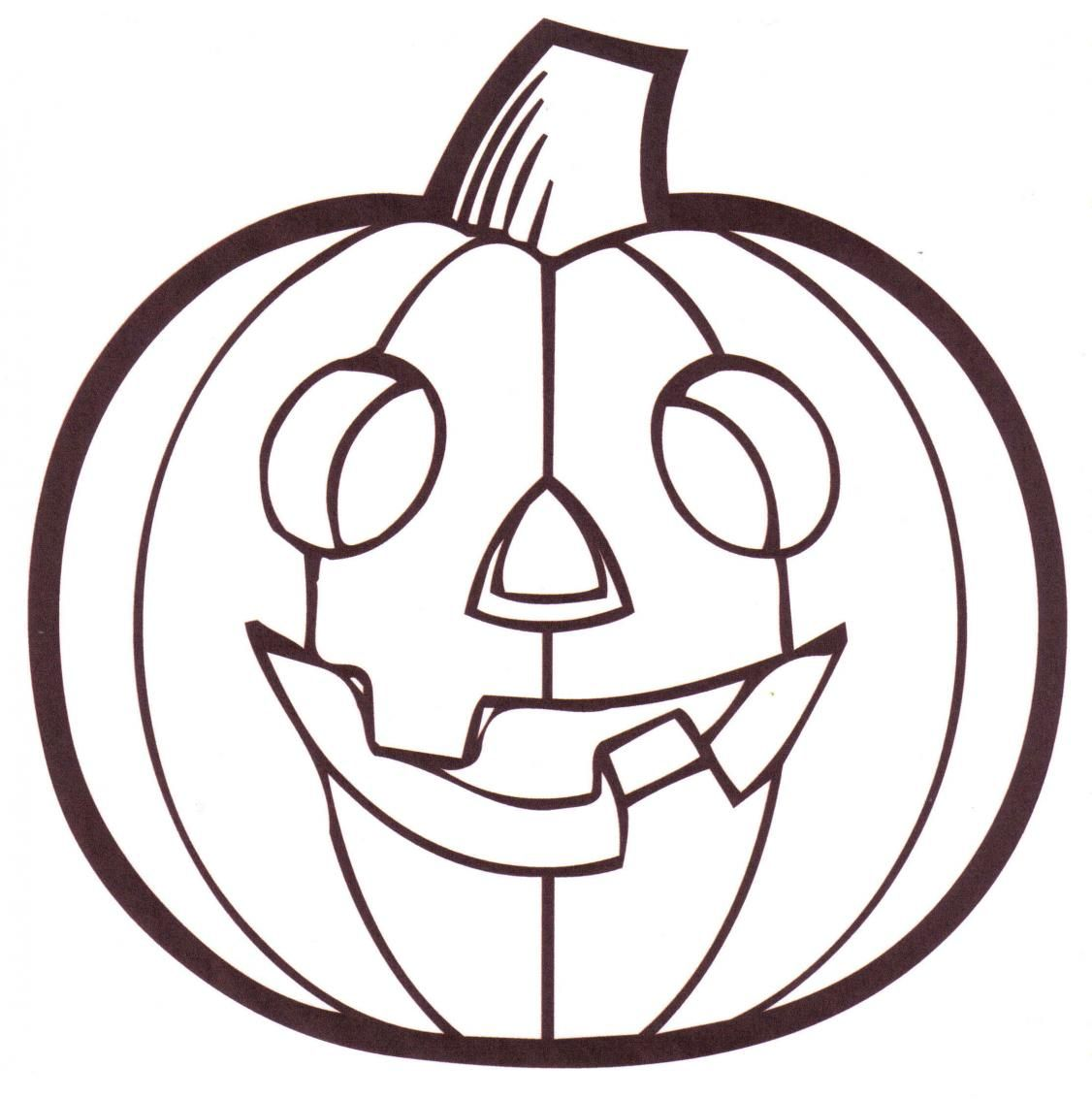 Free Pumpkin Coloring Pages Preschoolers At Getcolorings