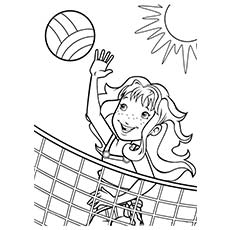 Free Summer Coloring Pages For Preschoolers at