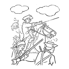 American Revolution Coloring Pages at GetColorings.com