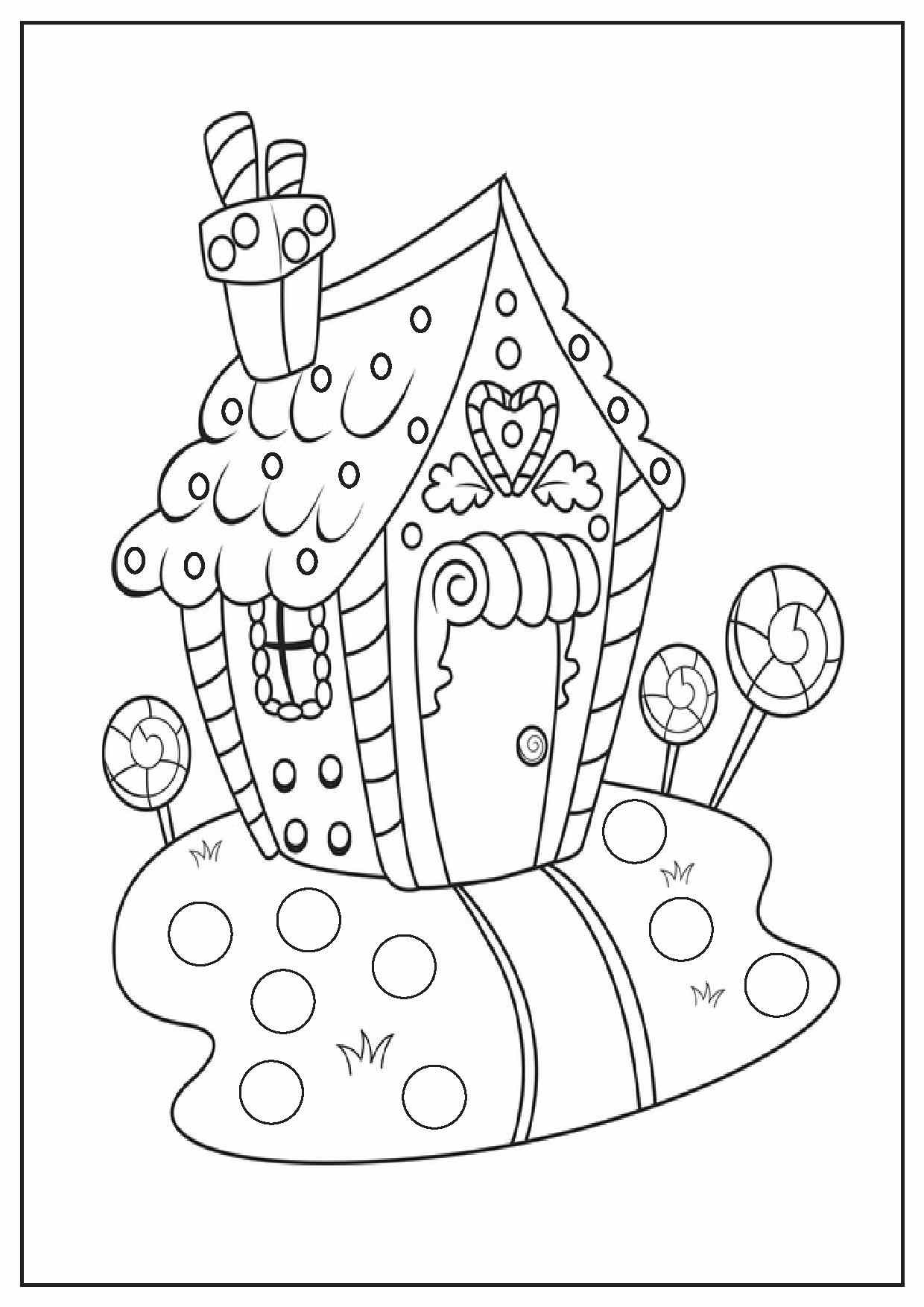 Full Page Christmas Coloring Pages At Getcolorings