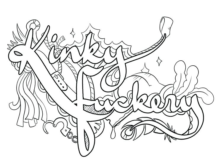 naughty  free coloring pages