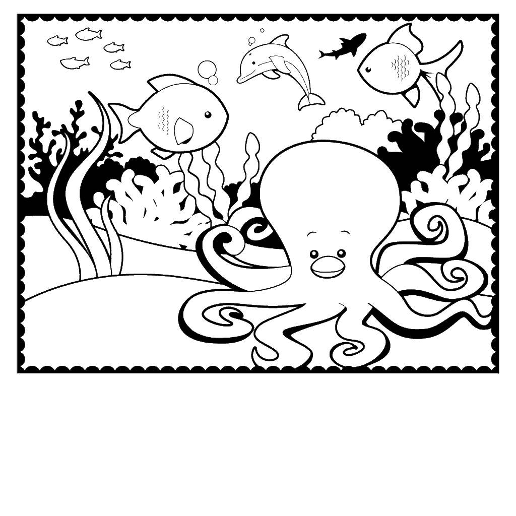 Full Size Coloring Pages To Print At Getcolorings