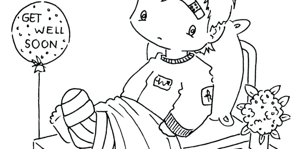 Get Well Soon Printable Coloring Pages at GetColorings.com