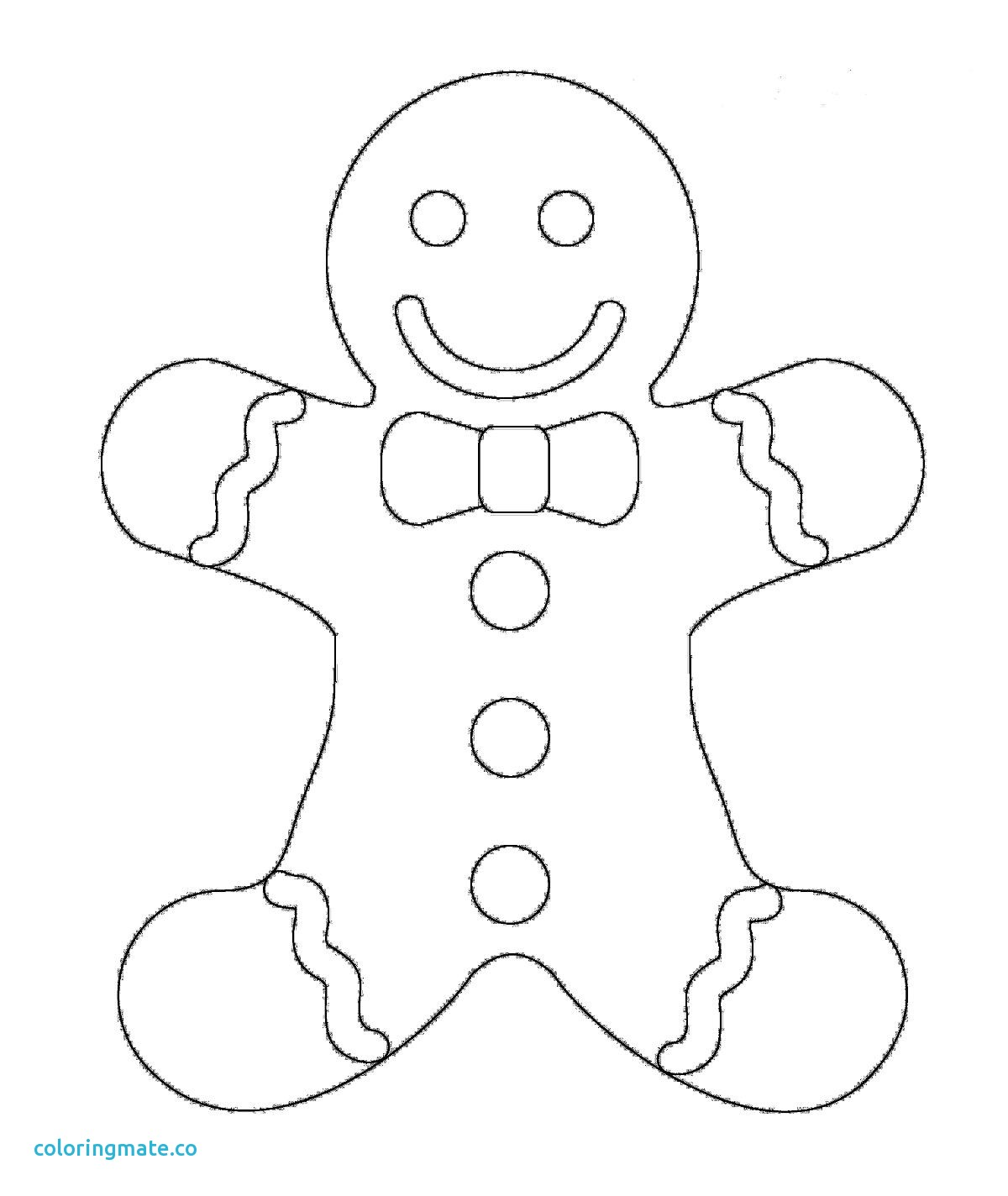 Gingerbread Family Coloring Pages At Getcolorings