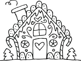 gingerbread coloring pages printable print cute getcolorings colo