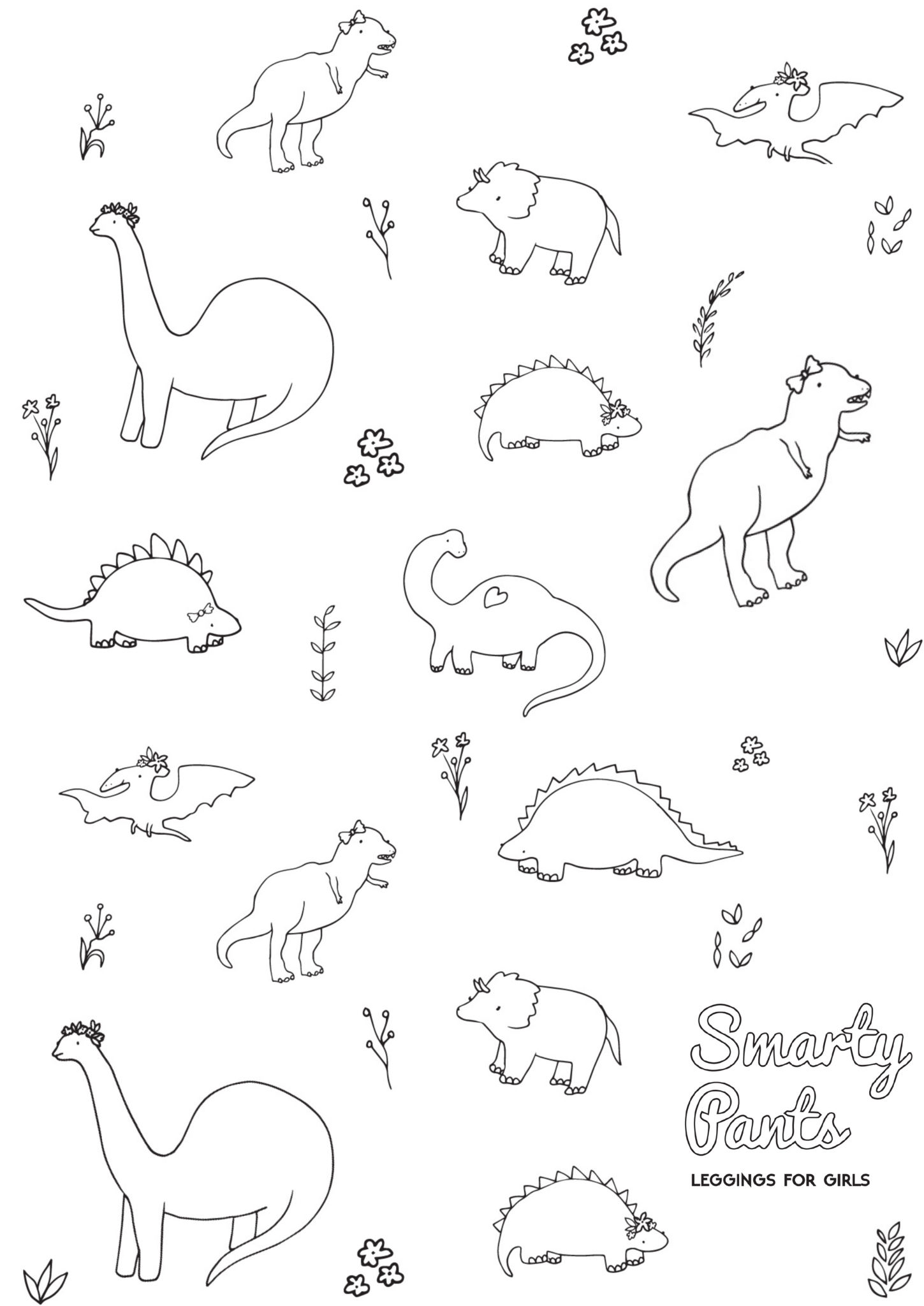 Girl Dinosaur Coloring Pages At Getcolorings