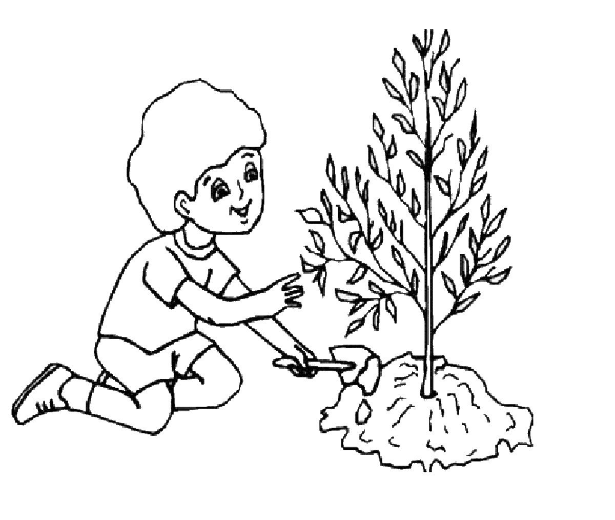 Go Green Coloring Pages At Getcolorings