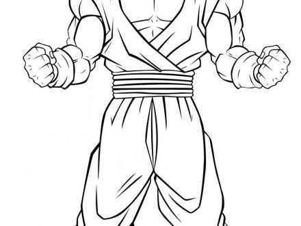 Goku Super Saiyan Coloring Pages at GetColorings.com
